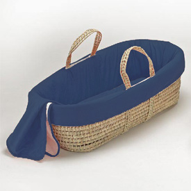 Solid Color Moses Basket