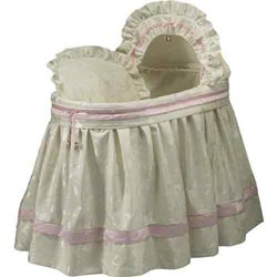 Baby King and Queen Bassinet Set