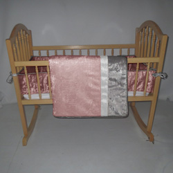 Velvet Crocodile Cradle Bedding
