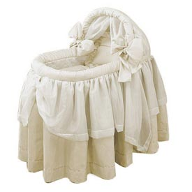 Lime Wonders Bassinet Set