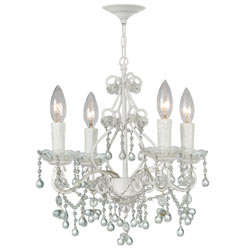 Crystal Single Tier Chandelier