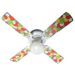 Bubble Dots Ceiling Fan