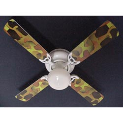 ceiling fans for kids | childrens ceiling fans | ababy Camouflage Ceiling Fan