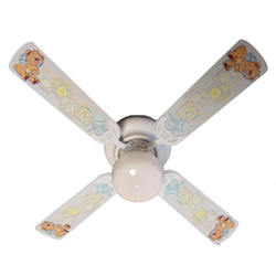 Baby Nursery Toy Blocks Ceiling Fan