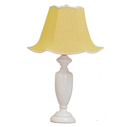 Gingham Table Lamp