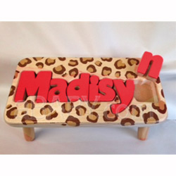 Safari 1 Name Puzzle Stool