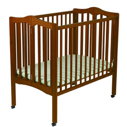 Non Dropside Folding Portable Crib�
