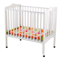 Non Dropside Folding Portable Crib
