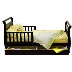 Deluxe Sleigh Toddler Bed