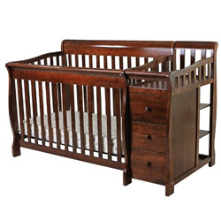 Brody Convertible Crib with Changer