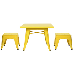 Lemonade Playset Table and Stool Set
