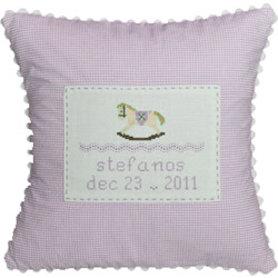 Rocking Horse Baby Pillow