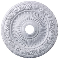 Floral Wreath Medallion