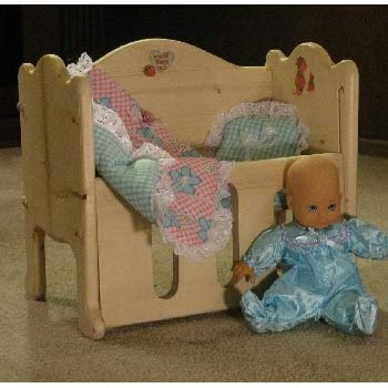 Little Dreams Doll and Crib