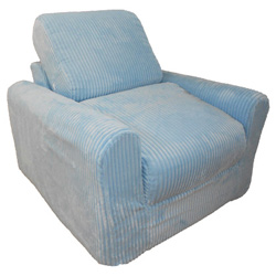Child's Chenille Chair Sleeper