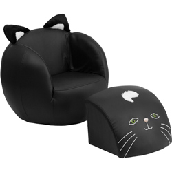 Cuddly Critters Chair with Footrest