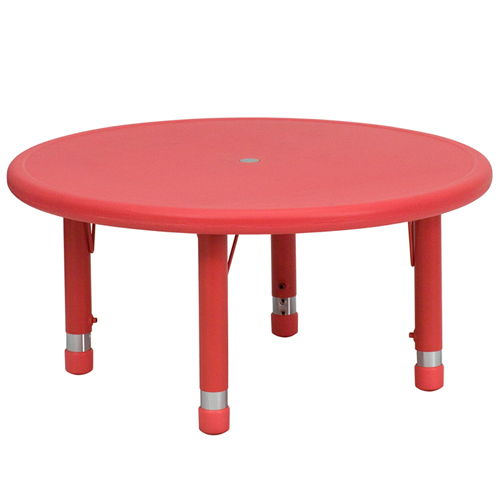 Round Preschool Table