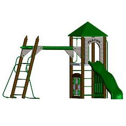 Fort Columbus Playground Set