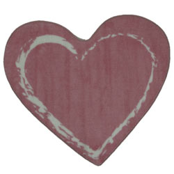 Heart Shaped Rug
