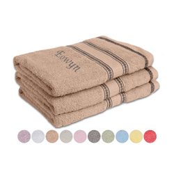 Set of 3 Embroidered Towels