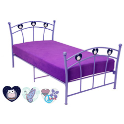 Youth Metal Twin Bed