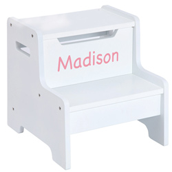 Personalized Expressions Step Stool for Toddlers