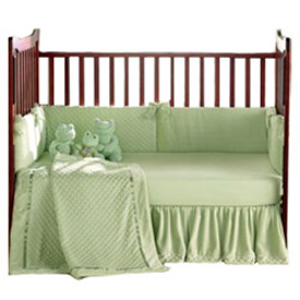 Heavenly Soft Crib Bedding Set