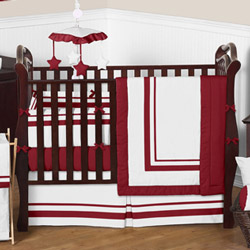 Pristine Hotel Crib Bedding Collection