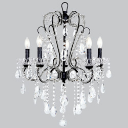 5 Arm Carousel Chandelier