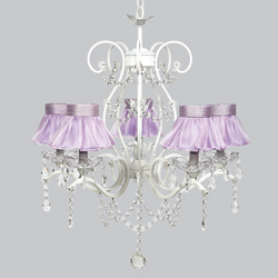 Ballerina Tutu 5 Arm Grace Chandelier