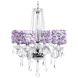 Rose Garden 4 Arm Middleton Chandelier