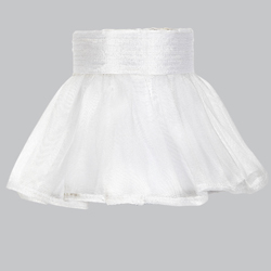 Ruffled Skirt Chandelier Shade