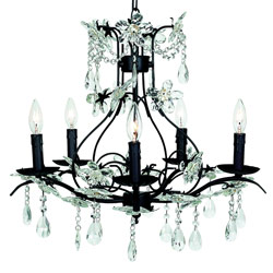 Cinderella 5 Arm Chandelier