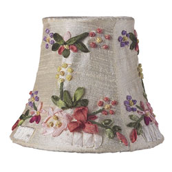 Floral Chandelier Shade