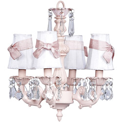 4 Light Fountain Chandelier