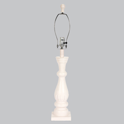 Shabby Chic Lamp Base