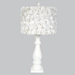 Rose Garden Shabby Chic Lamp