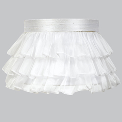 Ruffled Skirt Lamp Shade