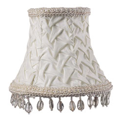 Bead Dangle Chandelier Shade