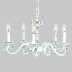 5 Arm Turret Chandelier