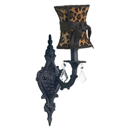 One Arm Scroll Wall Sconce