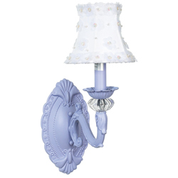 One Arm Turret Wall Sconce
