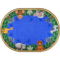 Jungle Friends Rug