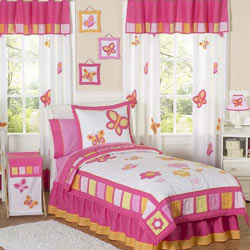 Dancing Butterfly Twin Bedding