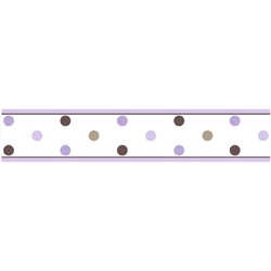 Mod Dots Wallpaper Border