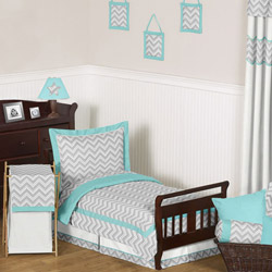 Zig Zag Toddler Bedding