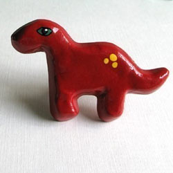 Brontosaurus Furniture Knob