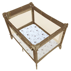 Safari Print Fitted Play Pen Sheet
