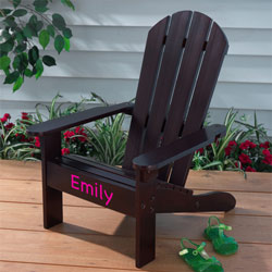 Personalized Kids Adirondack Chair