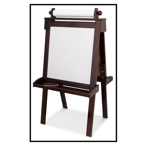 Kidkraft Natural Deluxe Wood Easel For Kids At Ababy